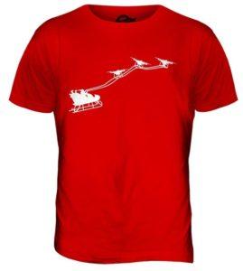 Candymix Drone De Santa Claus T-Shirt Homme