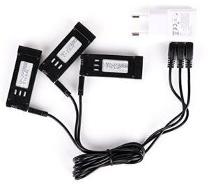 Chargeur + adaptateur batterie pour EACHINE E58
