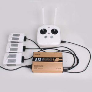 Chargeur batterie et télécommande DJI Phantom 4