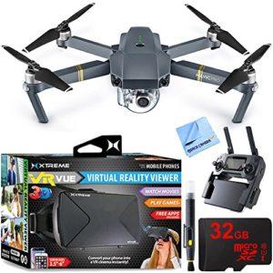 DJI Mavic Pro Drone avec casque de réalité virtuelle