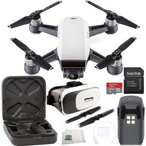 DJI Spark Drone avec casque VR