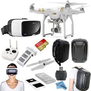 Drone DJI Phantom 3 avec casque VR