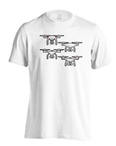 Drone Pilote D'Appareil Photo Hommes T-Shir