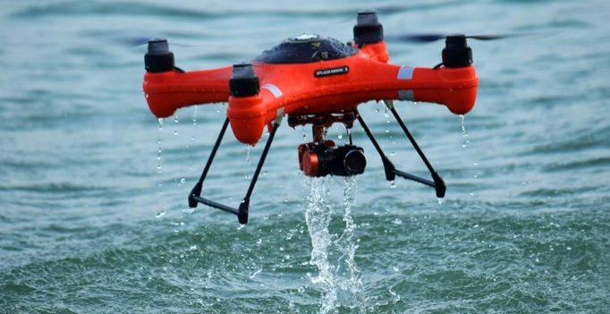 Les meilleurs drones Waterproof qui flottent sur l'eau