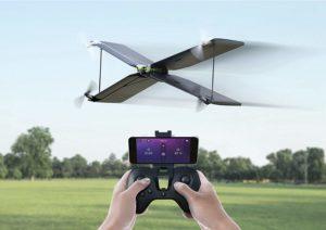 Parrot Pack MiniDrone Quadricoptère Avion Swing Télécommande Flypad