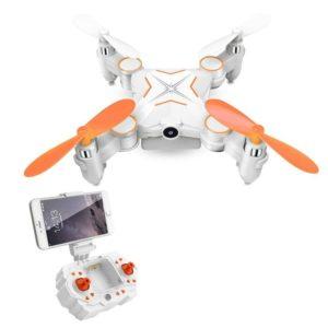 Rabing - Mini drone RC pliable FPV RV Wifi - Quatre hélices, avec télécommande et caméra HD 720p RC