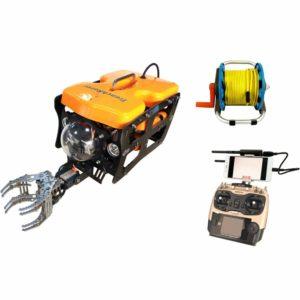 Thor Robotics Underwater Drone avec bras mécanique et FPV pour l'affichage 4 K UHD ROV