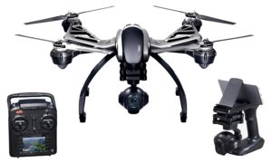 Drone Yuneec Typhoon Q500 4K radiocommandé avec Caisse en aluminium