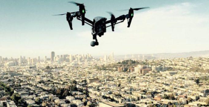 drone grandes villes