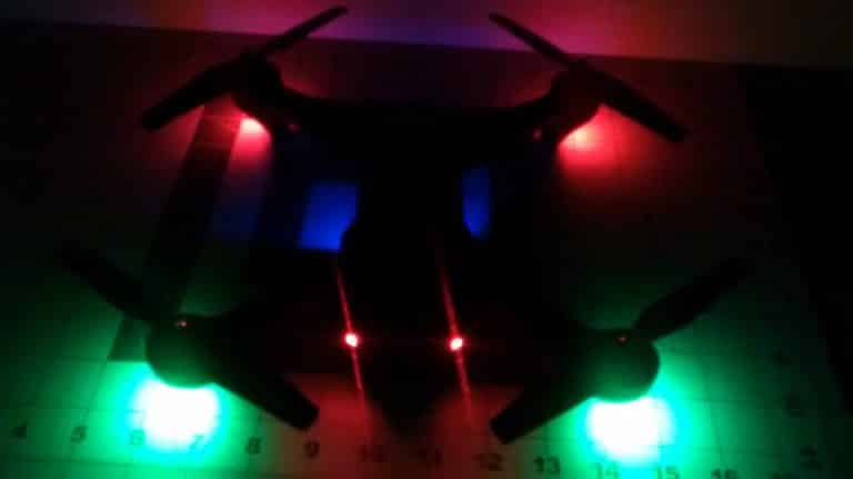 XS809W Foldable RC Quadcopter
