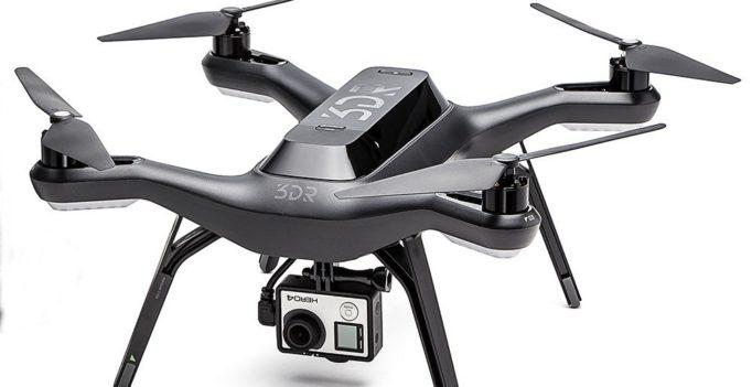 3DR Solo Quadrocoptère Drone Noir