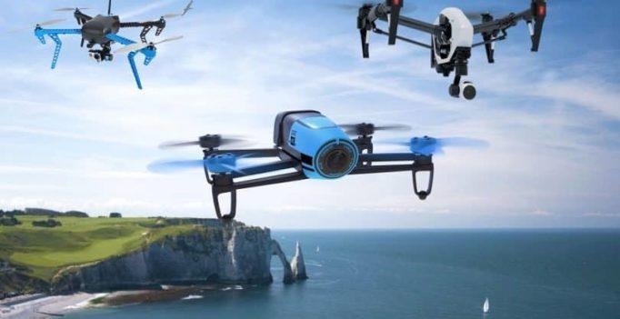 Les drones les plus populaires qui dominent la planète drone (2018)